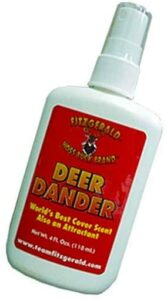 why use synthetic deer urine