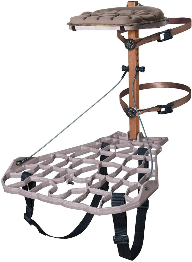 lone wolf assault treestand for deer hunters