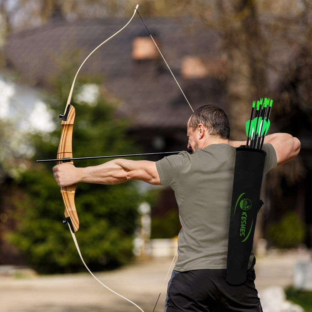 KESHES Archery Back Arrow Quiver Holder