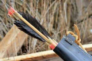 why use feathers for your arrow fletchings