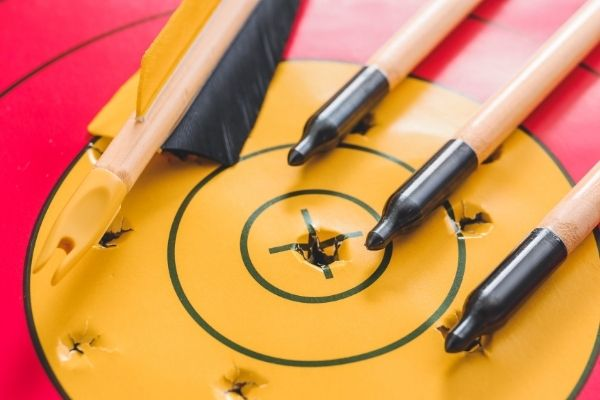 field point arrow tips