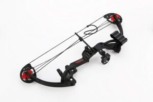 pandarus compound bow for beginners - complete bow and arrow package for new hunters