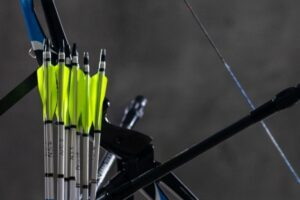 plastic arrow fletchings