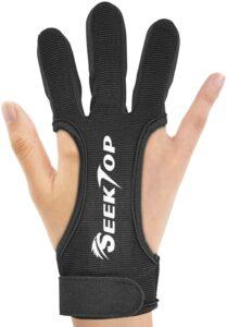 seektop archery gloves for beginner archers
